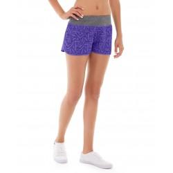 Erika Running Short-32-Purple